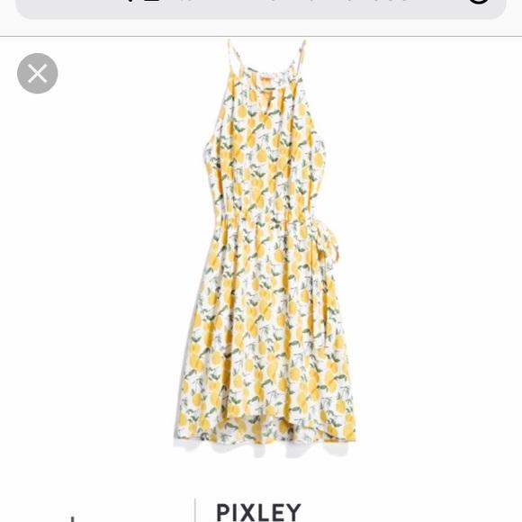 051ba7b4698 Nwt pixley 2x stitch fix lemon summer sun dress